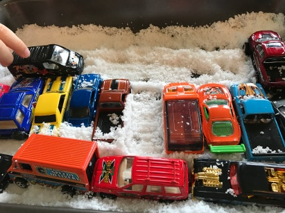 Snowbox closeup