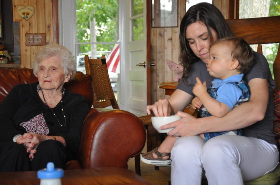 Grandma Stella Me & Kirkham