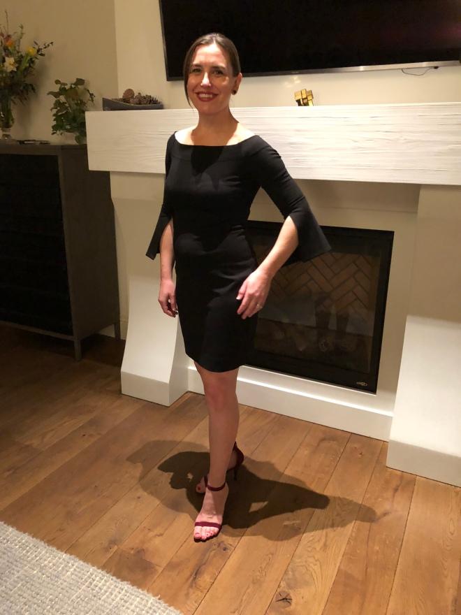 40 black dress